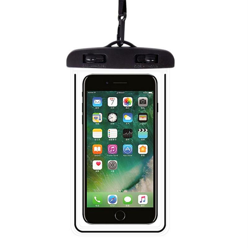 2 Pcs Lot Waterproof Pouch Cell Phones Portable Bag Convenient Useful Luminous Pvc Mobile Phone Bag 广州系威系势国际贸易有限公司